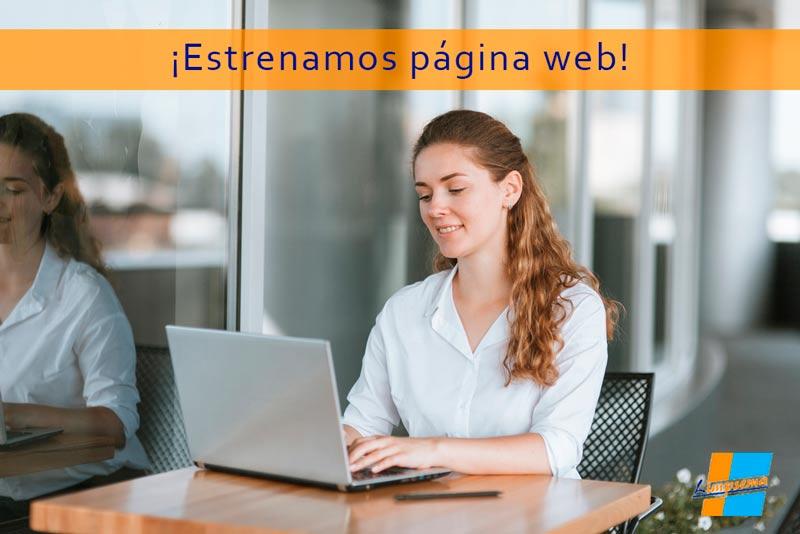 Os damos la bienvenida a nuestra nueva página web